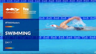 RE-LIVE |Swimming Day 7 | Main Pool |FINA World Masters Championships 2019