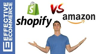 Shopify vs Amazon Pros and Cons Review Comparison