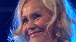 Agnetha Faltskog from ABBA in London's Heaven nightclub for the delight of worldwide fans!