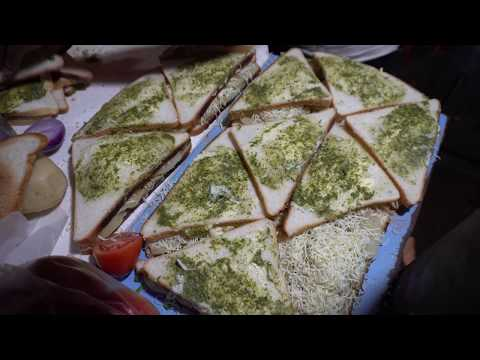 Sandwich King Mumbai, India | Best Street Food in India | Amazing Skills