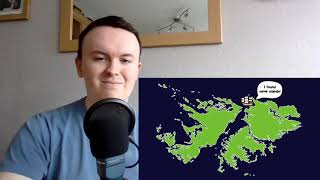 History Tutor Reacts to: OverSimplified, The Falklands - MiniWars #1