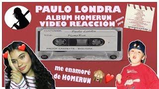 Paulo Londra   ALBUM HOMERUN *1ra PARTE Video Reacción Paulo Es Imparable🚀