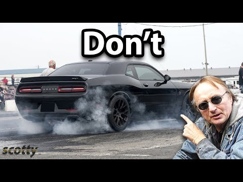 Why Not to Do a Burnout in Your Car