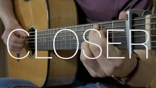 The Chainsmokers - Closer ft. Halsey - Fingerstyle Guitar Cover - With Tabs