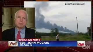 John McCain Unveils True Motive For Shooting MH-17 To Escalate War With Russia