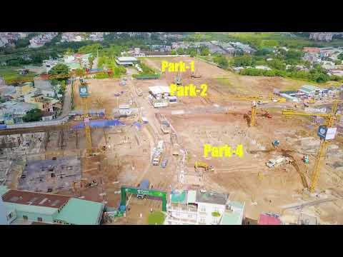 Tiến độ xây dựng dự án Picity High Park ngày 06/10/2020