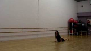 choreography to Smiling Underneath  by Ani Difranco