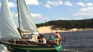 Jahtas Яхты Jachts Līderim pakaļ Lielupe - 2007