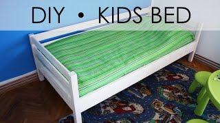 DIY - Kids Bed - EASY & SIMPLE