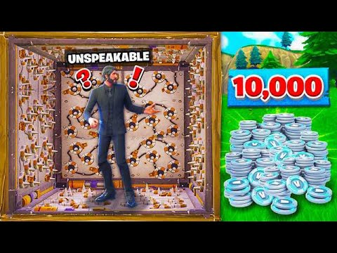 FIRST TO ESCAPE THIS ROOM GETS A 10,000 VBUCKS! (видео)
