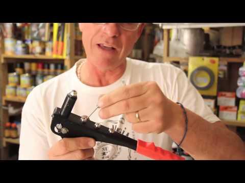 Cómo trabaja una remachadora por dentro para terminar de aplicar un remache