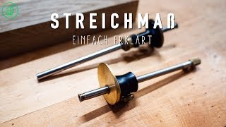 Darum sollte jeder Holzwerker ein STREICHMAß besitzen | Werkzeug einfach erklärt | Jonas Winkler