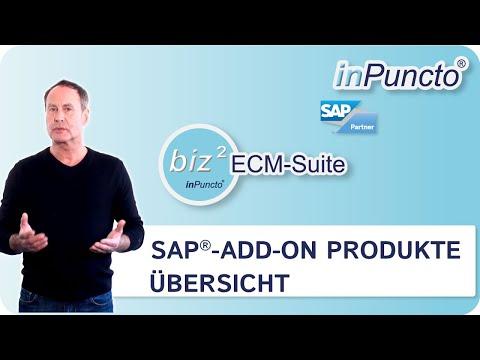 Überblick über die SAP-Add-on-Produkte von inPuncto zur Optimierung von dokumentbasierten Prozessen