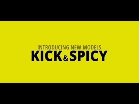 New prescription range : KICK & SPICY