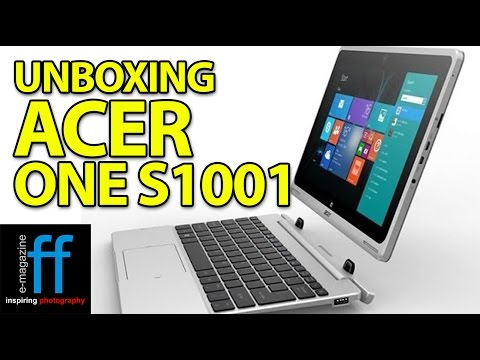 Unboxing Acer One 10 S100X S1001 and First Time Installation