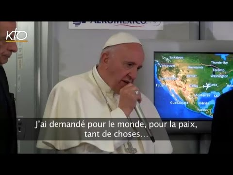 La prière du Pape François à Notre-Dame de Guadalupe