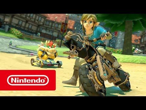 Mise à jour The Legend of Zelda: Breath of the Wild de Mario Kart 8 Deluxe