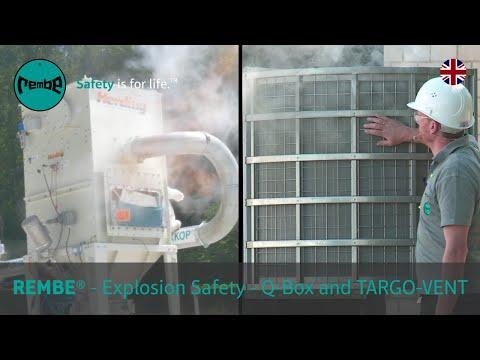 REMBE - Người vận hành các cơ sở công nghiệp làm việc với Chất rắn dễ cháy cần phải quản lý các nguy cơ nổ bụi tiềm ẩn.