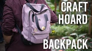 Tackling My Craft Hoard - Backpack