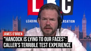 """""""Hancock is lying to our faces"""": Caller's terrible test experience 