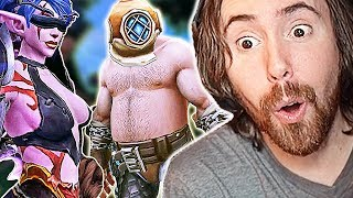 Asmongold Hosts FIRST EU Transmog Competition   THE BEST