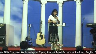 28-1-15 Bible Study On Sanctification By Pastor Pramila Jeyaraj