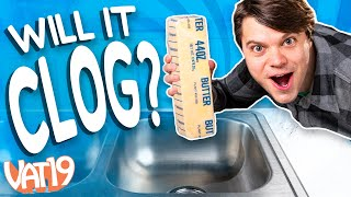 Will It Clog? 15 Pounds of Butter!