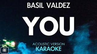 Basil Valdez - You (Karaoke/Acoustic Instrumental)