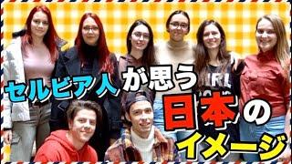 【海外の反応】外国人に「日本について」聞いてみた in セルビア共和国 (Utisak o Japanu)