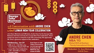 video - George Talks Business with Andre Chen