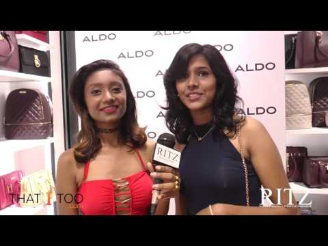 Ritz Aldo Shoefie Party : Vindya Krishna & Malini