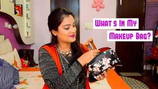 Image for video on What's In My Makeup Bag? by Aarushi Jain