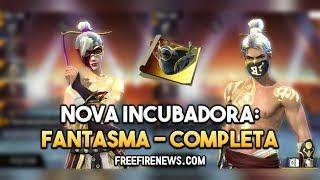 Nova Incubadora – Todas as Skins DA INCUBADORA FANTASMA