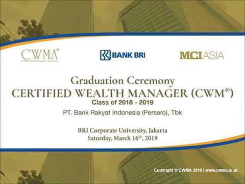 Certified Wealth Manager (CWM®) Program Bank BRI 2018-2019 | Participant's Testimonial - Part 3