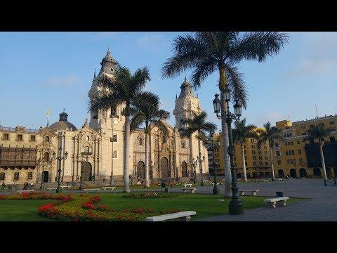 Достопримечательности в городе Лима. Перу