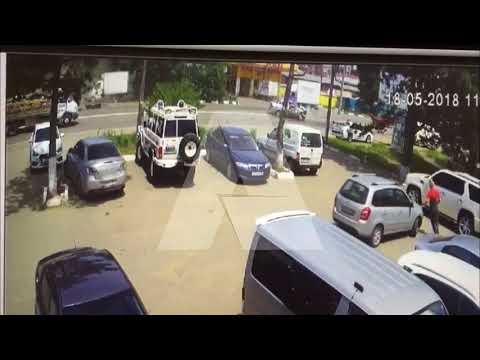 Автоледи врезалась в BMW на встречке в Армавире