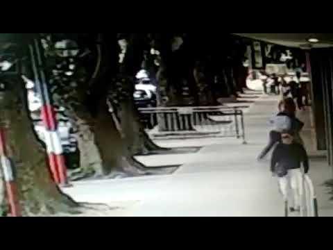 Video. Así agredieron a un periodista de la Red 92