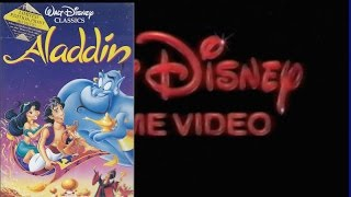 Opening & Closing To Aladdin 1994 VHS (Australia)