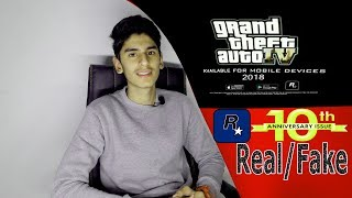 GTA 4 Android Release Date Confirm 2018 Real/Fake? || Must Watch