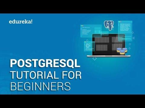 PostgreSQL Tutorial For Beginners | Learn PostgreSQL ... - YouTube