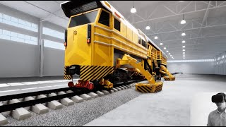 Case - VR Presentation for the Railtrack Repair Vehicle