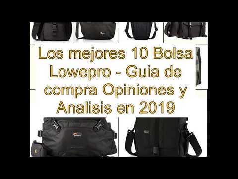 Los mejores 10 Bolsa Lowepro - Guía de compra, Opiniones y Análisis en 2019