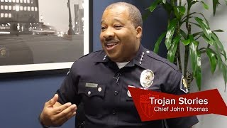 Chief John Thomas's USC journey comes full circle
