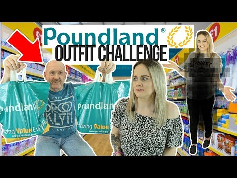 👗 BOYFRIEND BUYS POUNDLAND OUTFIT FOR GIRLFRIEND CHALLENGE *PEP & CO* 😱