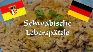 preview picture of video 'Homemade Swabian Liver Spaetzle, German Food'