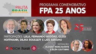 #aovivo | Programa comemorativo FPA 25 anos | Pauta Brasil