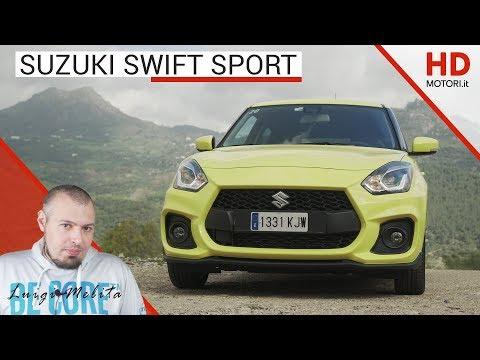 Suzuki Swift Sport 2018: recensione in anteprima per la sportiva da 975 KG e 140 CV | 4K VIDEO