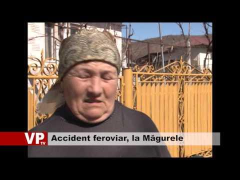Accident feroviar, la Măgurele