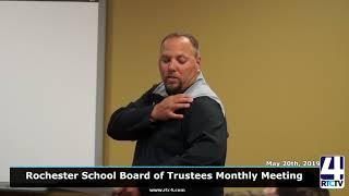 Rochester School Board - 5-20-19