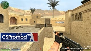 CSPROMOD Gameplay DM csp_dust2